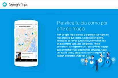 Actualizaciones de Google Trips le alertan sobre tarifas de hoteles