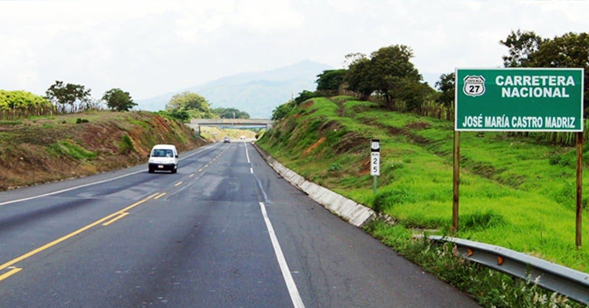 Regreso a San José tendrá dos carriles en Ruta 27 el 1 de enero