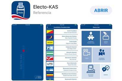 App permitirá hacer simulaciones de próximas elecciones