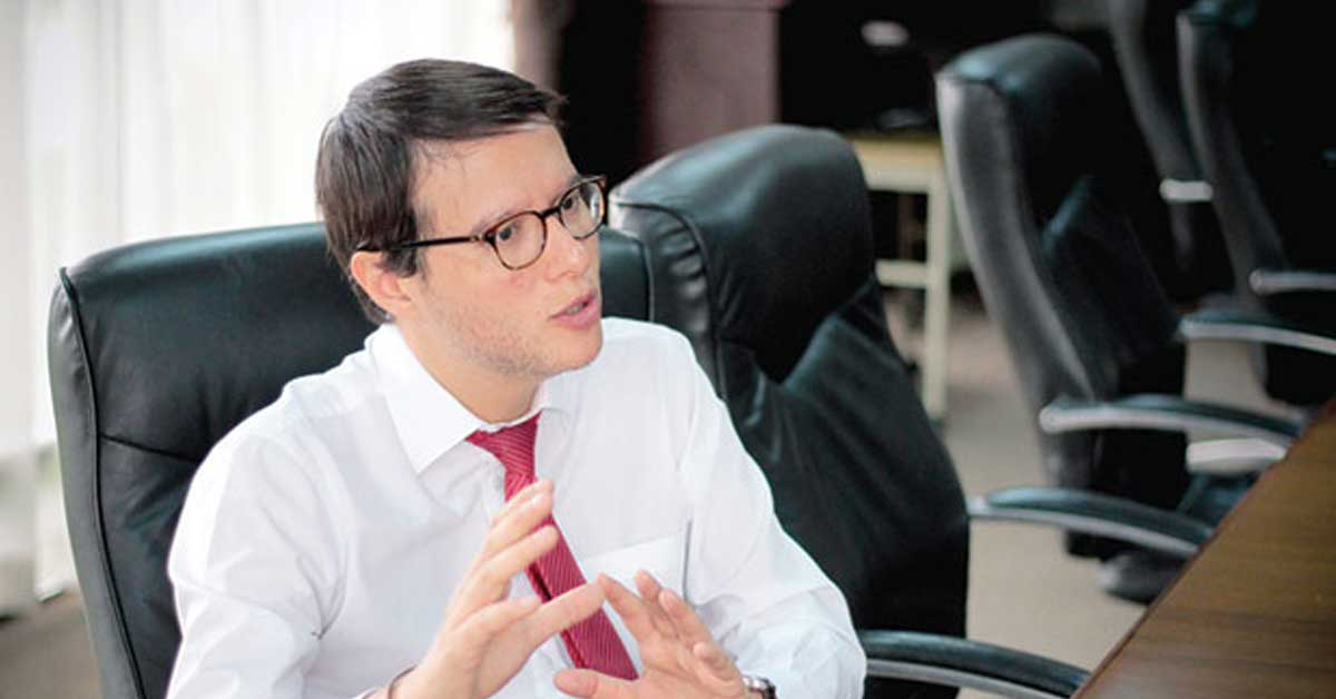 Marco Feoli asume Ministerio de Justicia