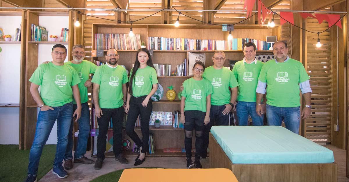 Sylvania rediseñó biblioteca pública de La Carpio