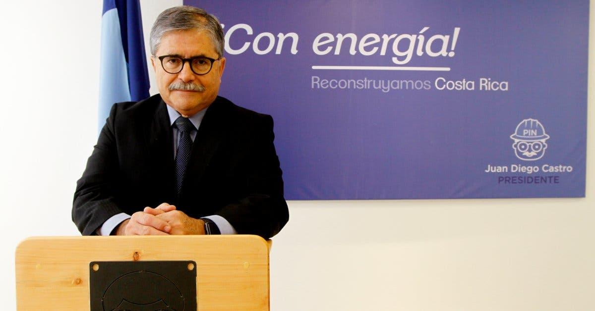 """Juan Diego Castro: """"donación de transportista es transparente"""""""