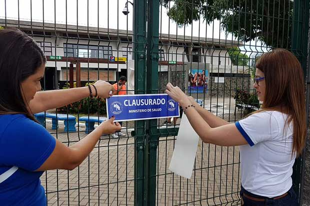 Salud reafirmó cierre de Balneario San Lucas en Puntarenas
