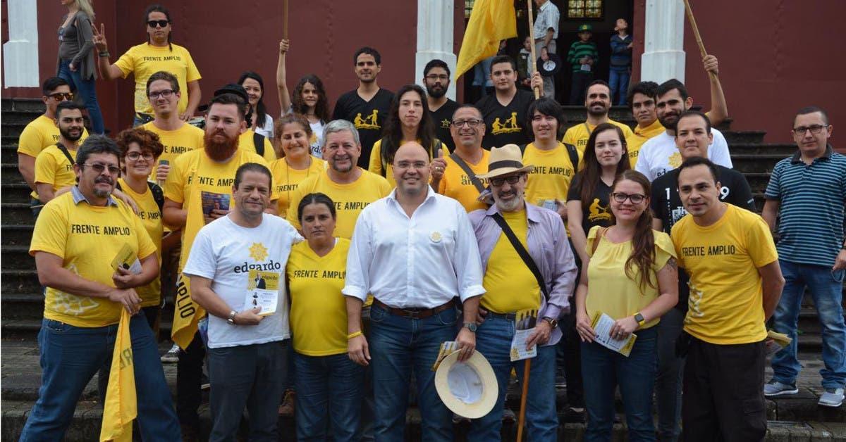 Edgardo Araya inaugura giras provinciales visitando Alajuela y Cartago