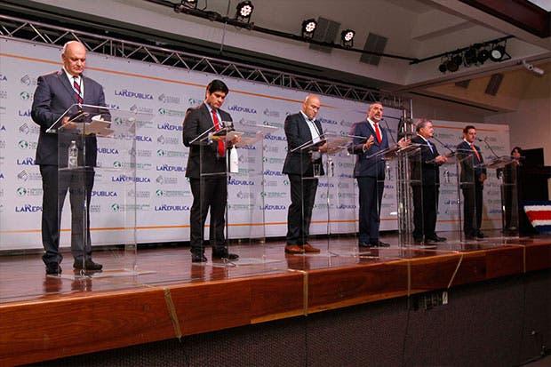 Hoy y mañana se realizará debate presidencial del TSE