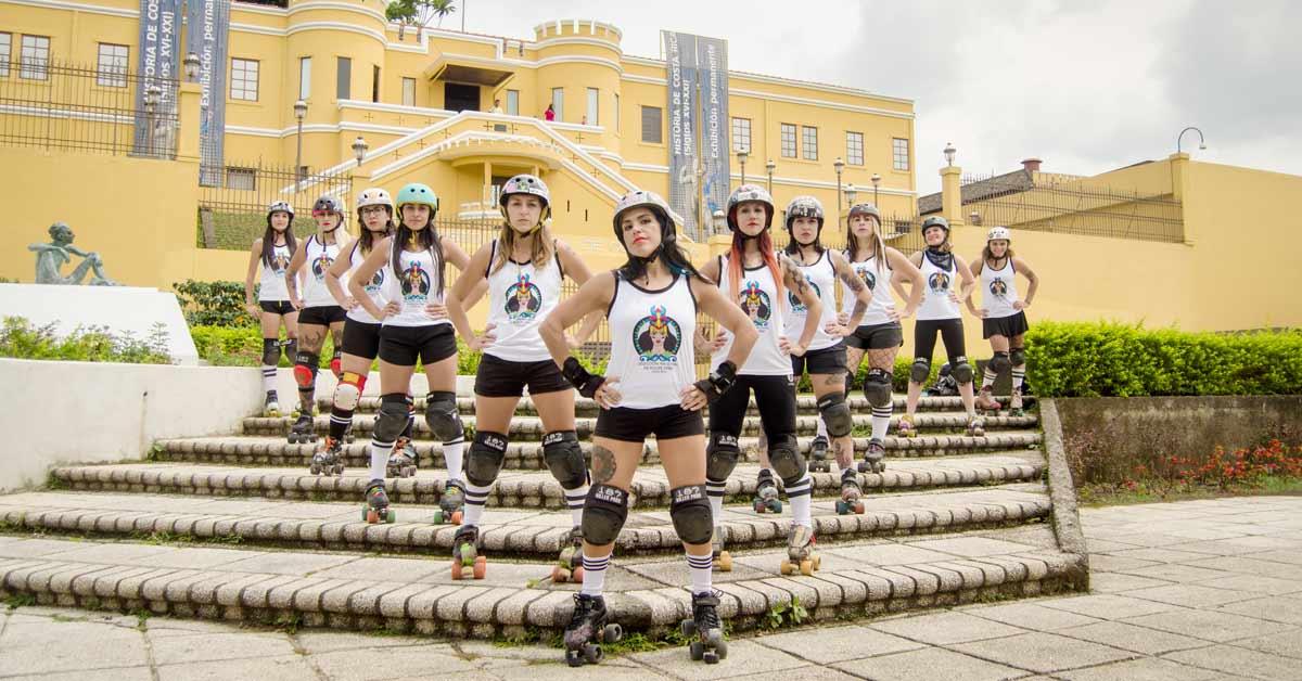 Costa Rica debutará en Copa del Mundo de Roller Derby