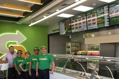 Subway llega a Nicoya y suma seis locales en Guanacaste