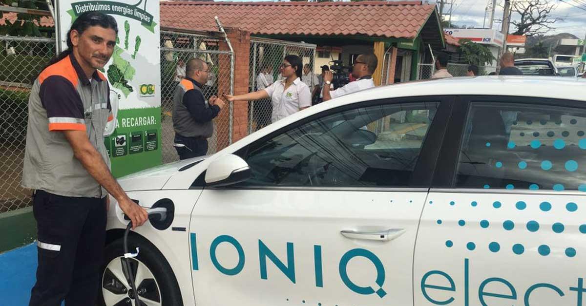 Guanacaste cuenta con su primera electrolinera