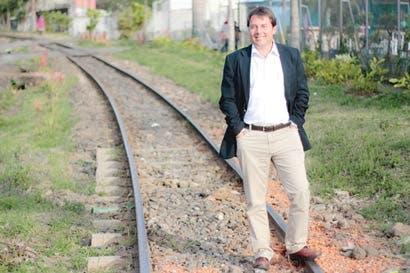 """Max Umaña: """"Construir un tren y un metro no es ciencia ficción"""""""