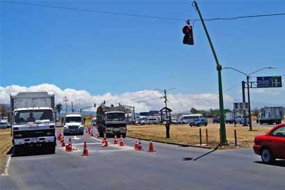 Carretera General Cañas tendrá varias modificaciones cerca del aeropuerto
