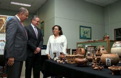 País recupera importante colección arqueológica decomisada en Venezuela