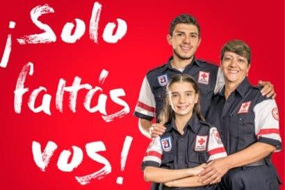 Cruz Roja está reclutando voluntarios para este 2018