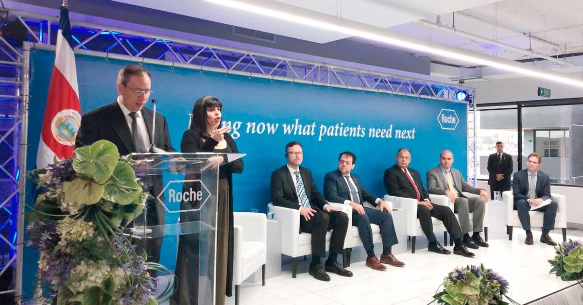 Farmacéutica Roche inauguró instalaciones tras inversión de $1,5 millones