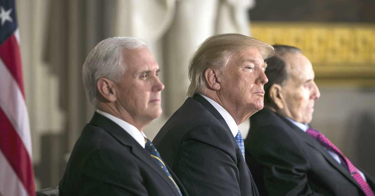 Trump consideraría no abandonar TLCAN