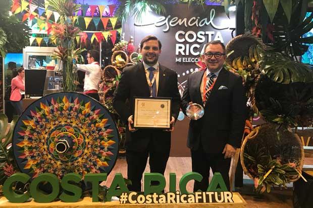 Costa Rica recibió premio de excelencia en Turismo