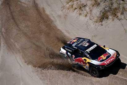 "Entrevista líder Rally Dakar: ""No vine a pasear, mi objetivo es ganar"""