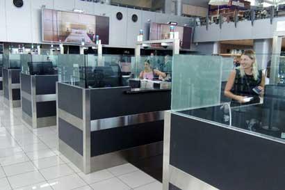 Migración duplicó puestos de salida en aeropuertos