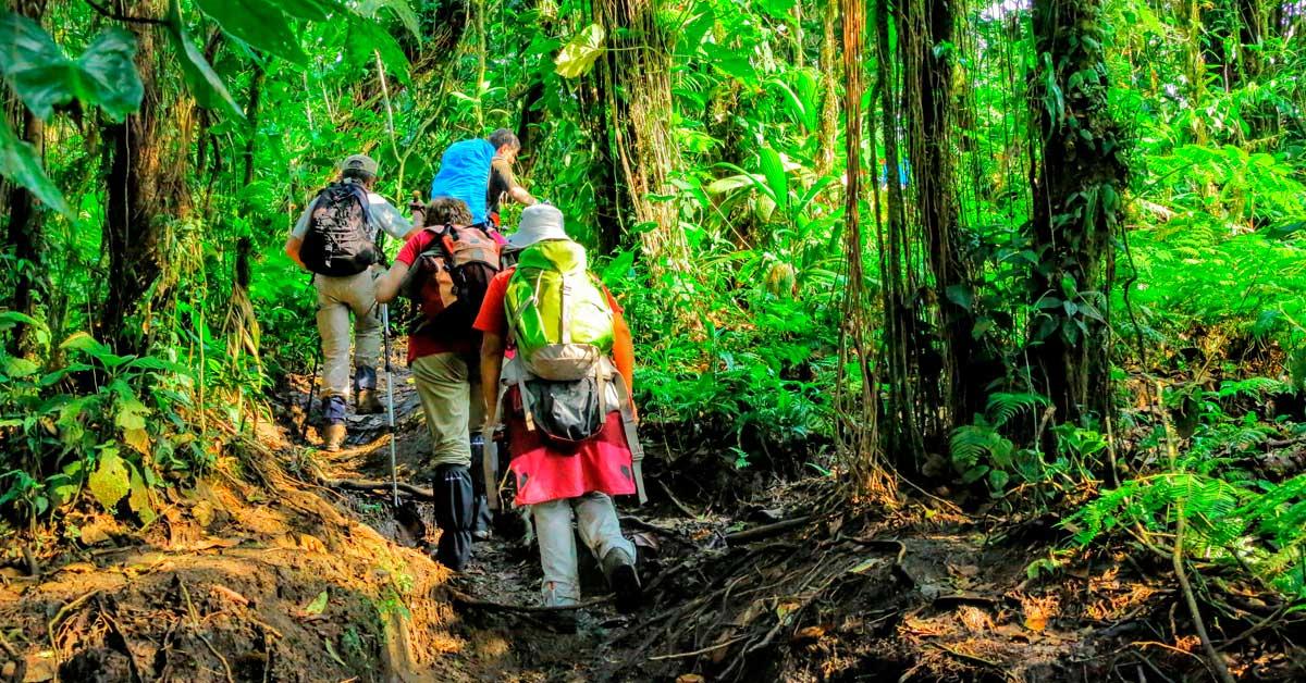 Primer grupo de senderistas que cruzaron el país relatan la experiencia