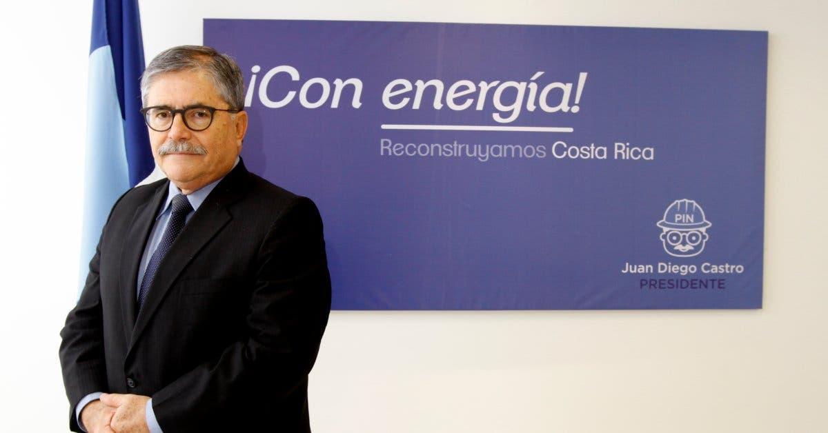 """Juan Diego Castro: """"Aprobaré una ley de mandato revocatorio para Presidente y diputados"""""""