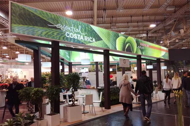 Costa Rica expone sus plantas ornamentales en Alemania
