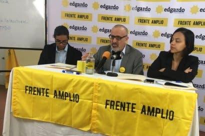 Frente Amplio critica medidas para recortar el presupuesto
