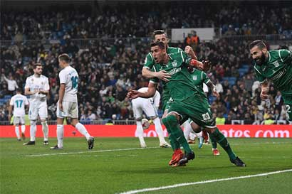 Real Madrid eliminado de la Copa del Rey por el modesto Leganés