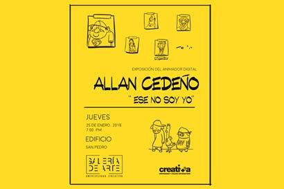 Exposición de caricaturas retrata la cultura popular