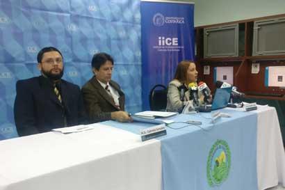 Crecimiento económico no será mayor a 3,75% indica IICE de la UCR