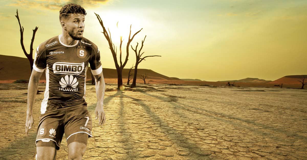 Johan Venegas suma seis goles en los últimos tres años