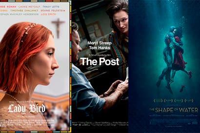 Conozca las fechas de estreno de las nominadas al Oscar en los cines costarricenses