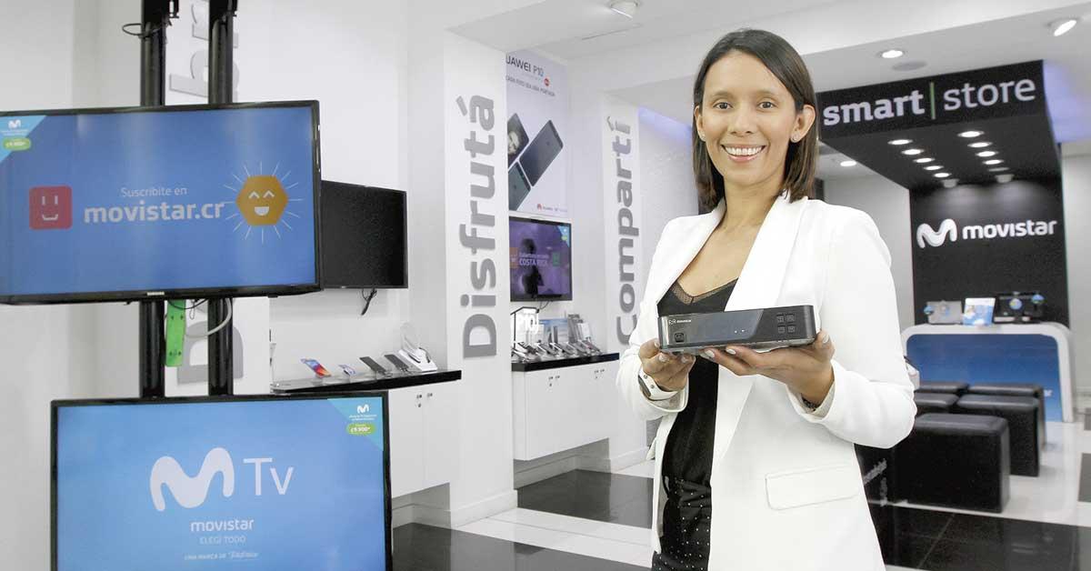 Movistar lanza servicio de televisión satelital