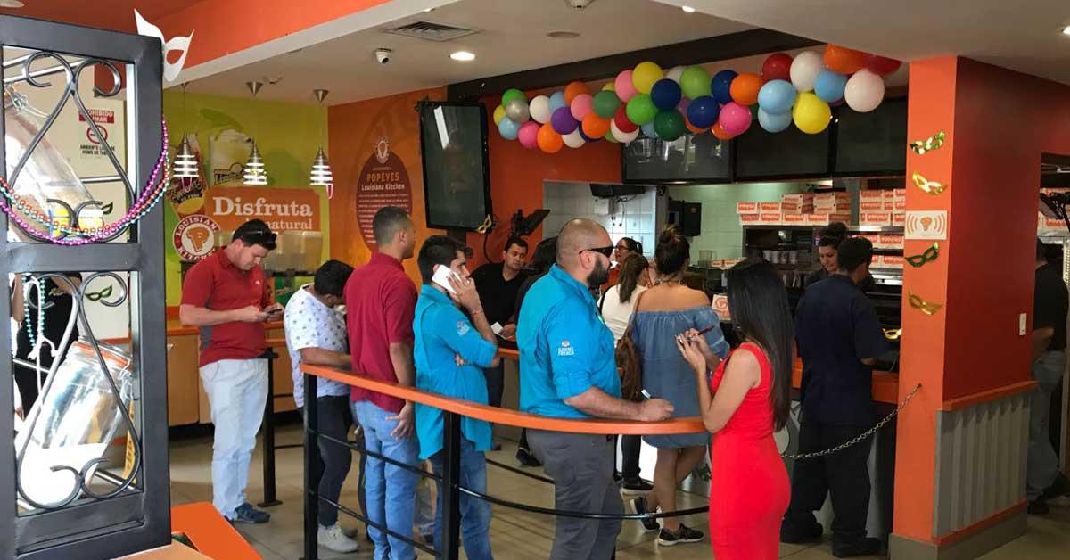 Popeyes abrirá mañana en Guadalupe su local número 10