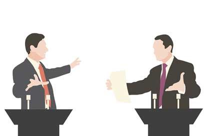 ¿Qué deben hacer los candidatos para ganar un debate?