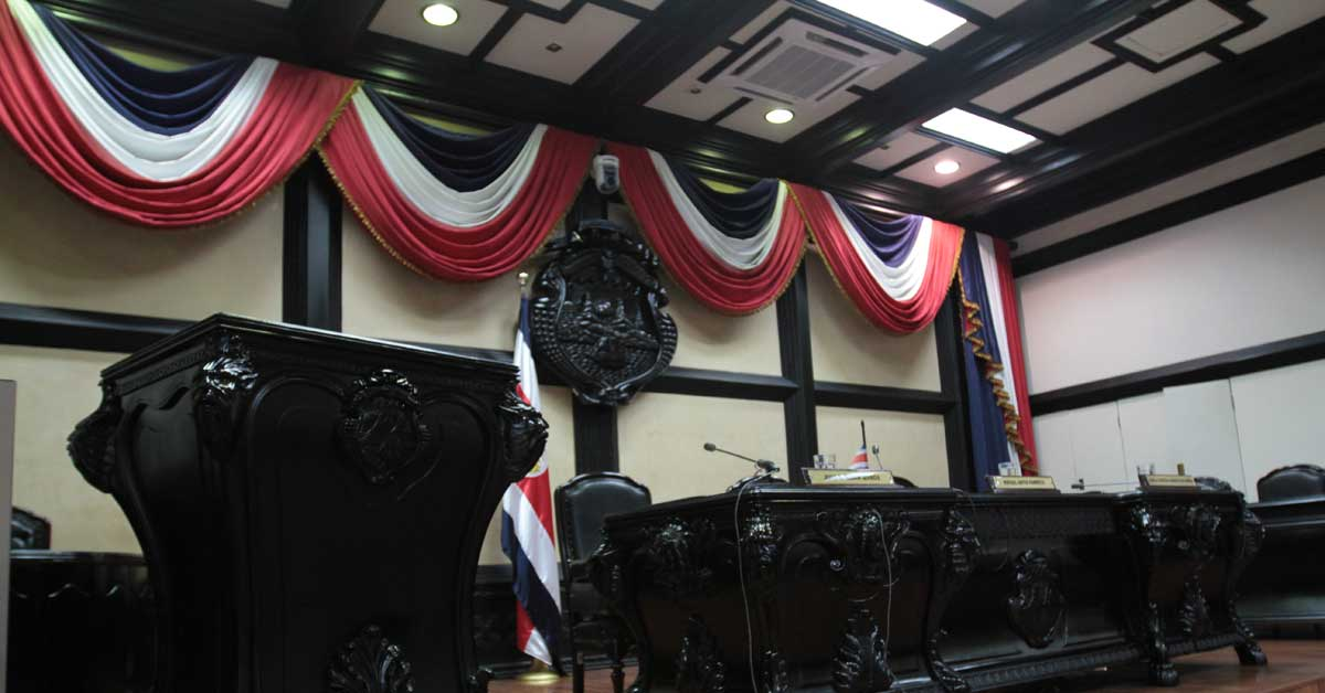 Diputados acuerdan suspender sesiones legislativas hasta el jueves