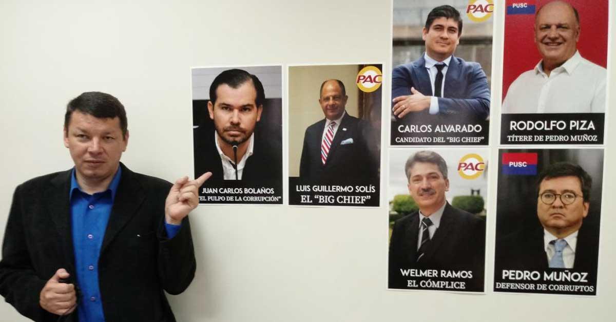 Óscar López pide no votar por Welmer Ramos, Pedro Muñoz y Daniel Gallardo