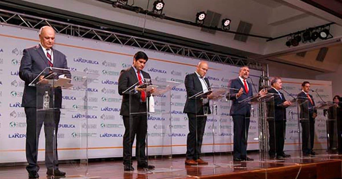 Organizan debate con candidatos no invitados por Canal 7