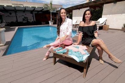 Un viaje a la piscina les dejó un negocio a dos mujeres