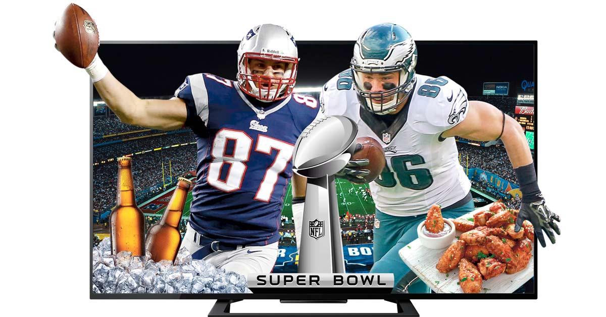 Bares y restaurantes se preparan para ver el Super Bowl