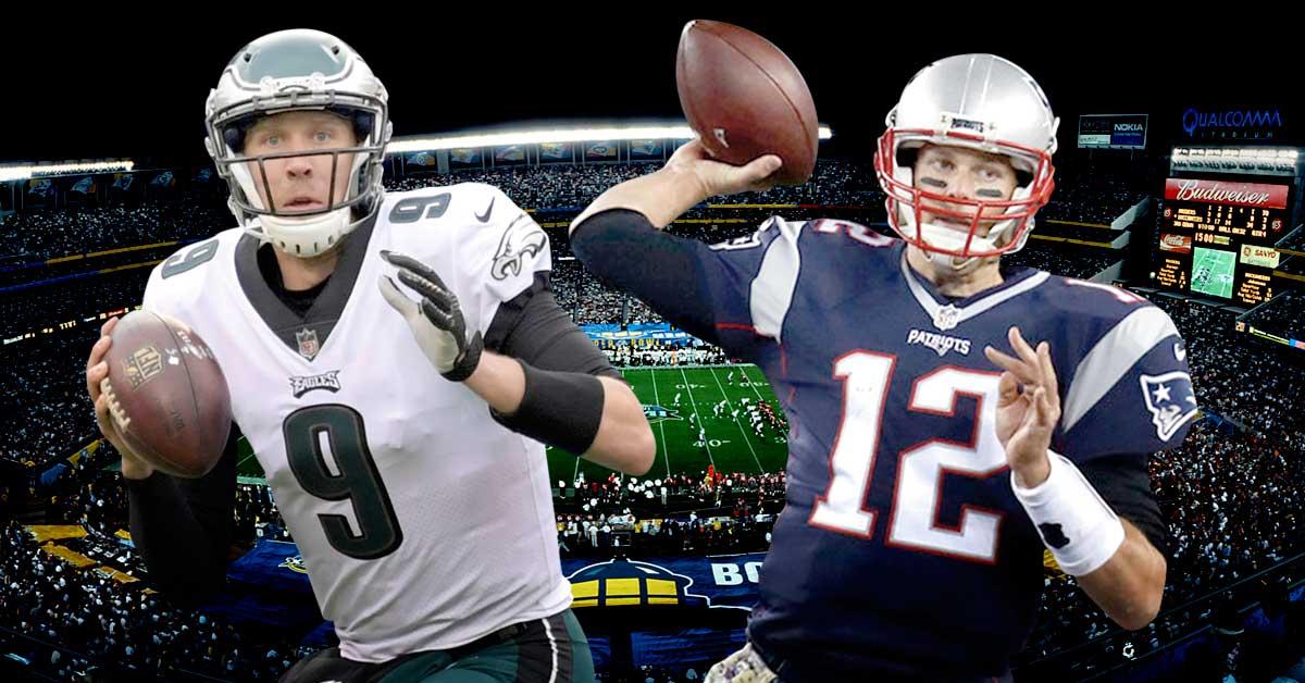 Eagles van por la revancha contra los Pats en el Super Bowl