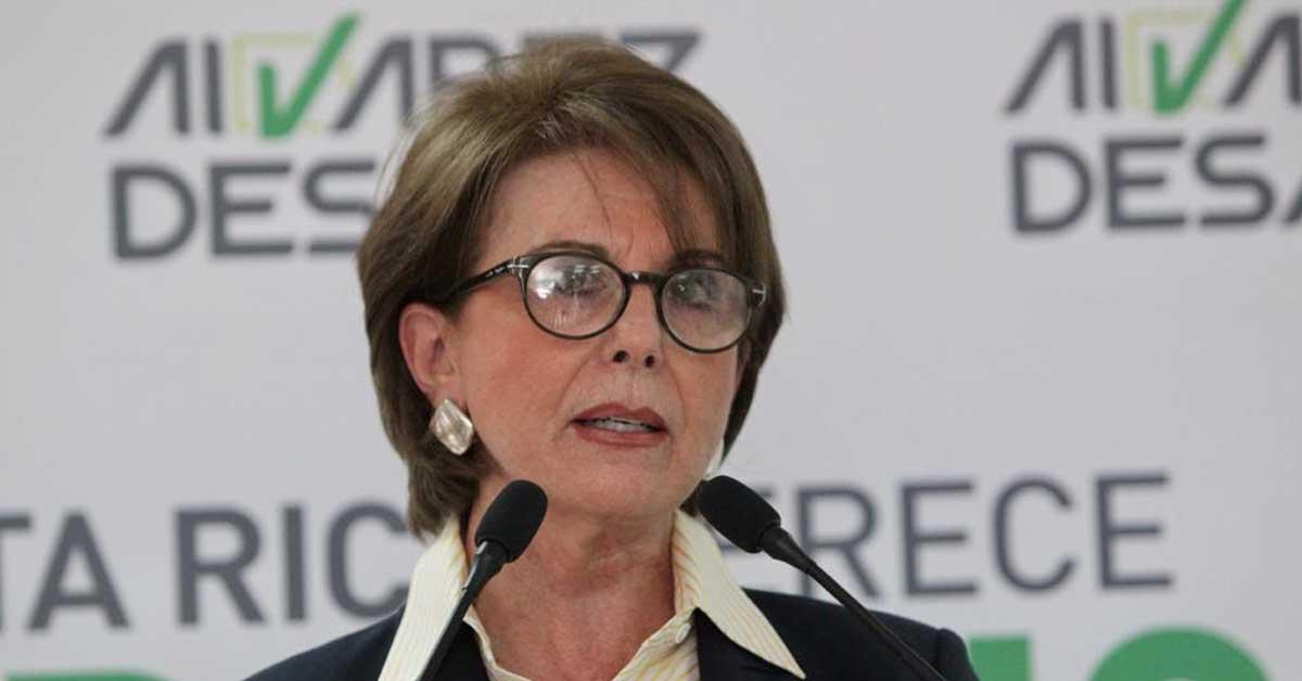 Diputada respalda a Álvarez en conflicto con Piza sobre pensiones