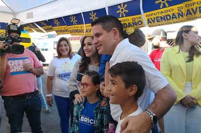Fabricio Alvarado espera que las encuestas se reflejen en las votaciones