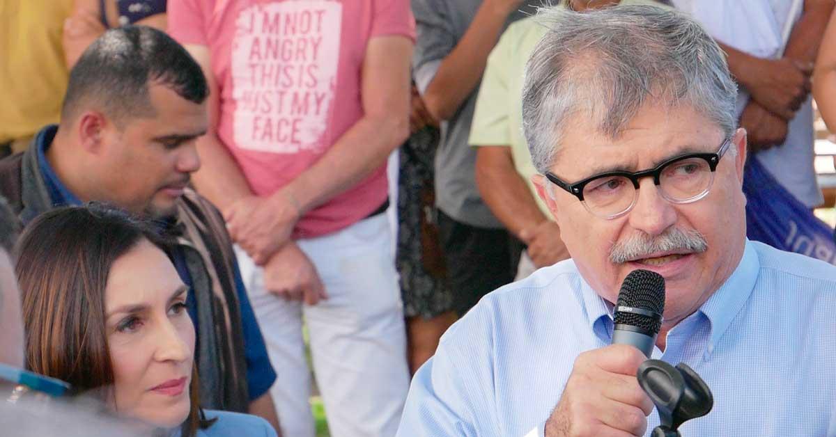 """Juan Diego Castro: """"se les acabó la fiesta a los corruptos"""""""