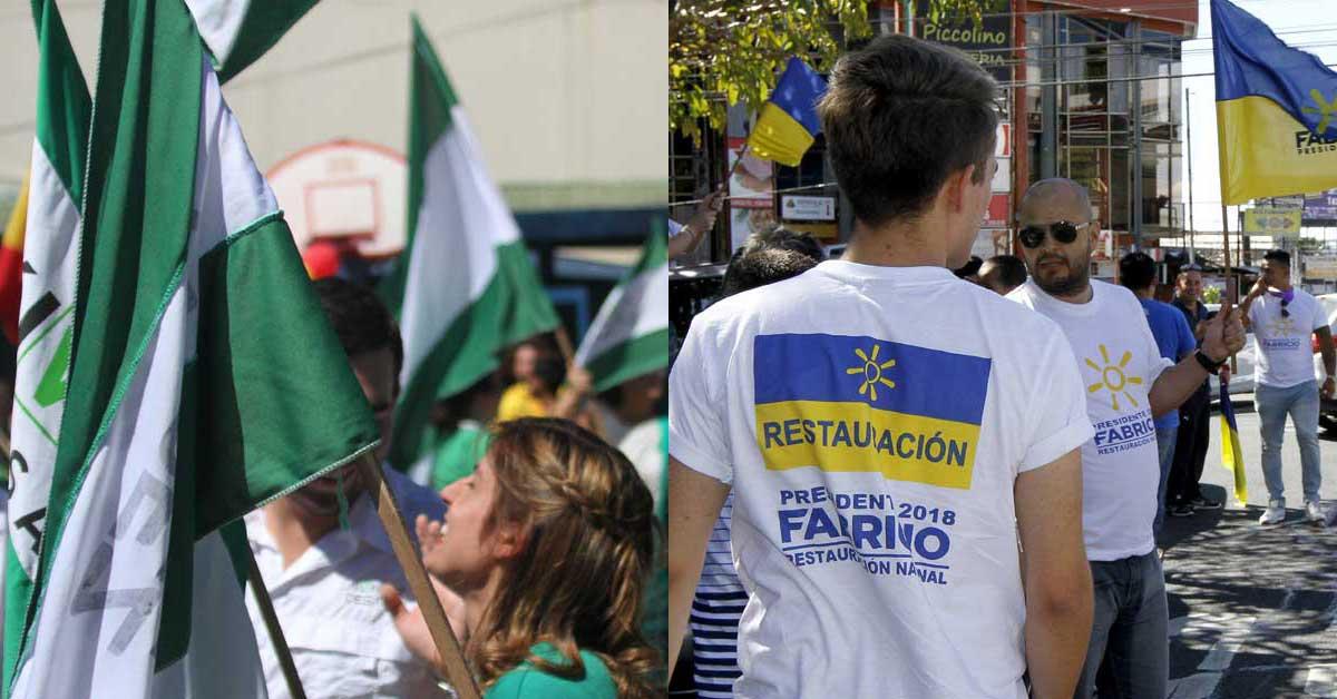 Fabricio Alvarado y Antonio Álvarez acumulan mayoría de votos al primer corte