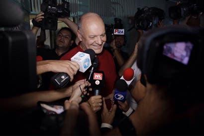 """Rodolfo Piza: """"Levanté con orgullo la bandera rojo y azul"""""""