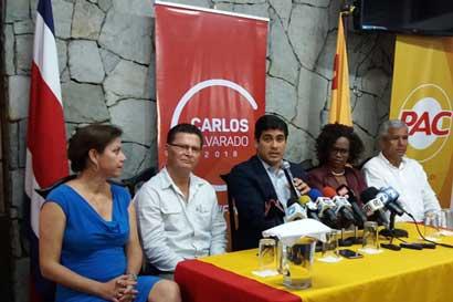 Carlos Alvarado: Debate en segunda ronda debe enfocarse en temas relevantes para el país