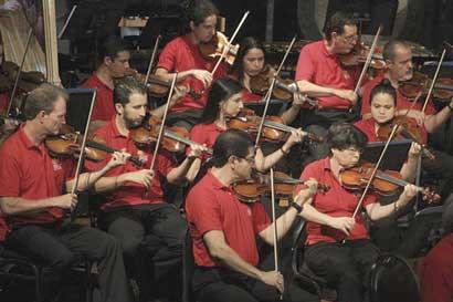 Cinco comunidades disfrutarán de una Lunada Sinfónica