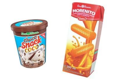 Choco Snack sabor coco y bebida de Morenito son los nuevos productos de Dos Pinos