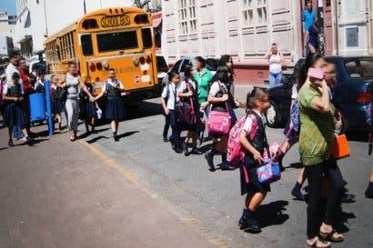Más de 65 instituciones contarán con presencia de oficiales de tránsito esta entrada a clases