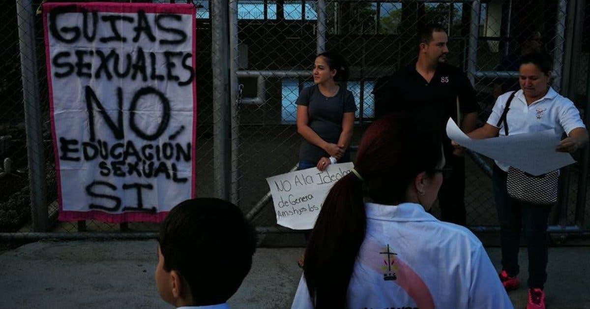 Al menos cuatro manifestaciones en centros educativos contra programa de sexualidad
