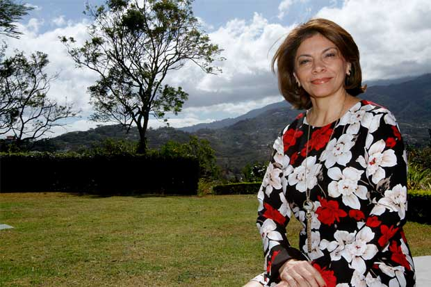 """Laura Chinchilla """"Partidos que no van a segunda ronda deben reflexionar sobre hacer una alianza"""""""